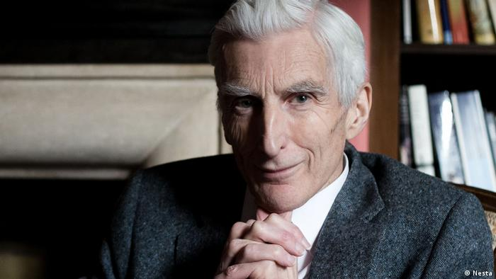 Sir Martin Rees, British astronomer and author of On the Future (Unsere Zukunft)