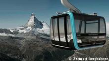 Neue Matterhorn Seilbahn