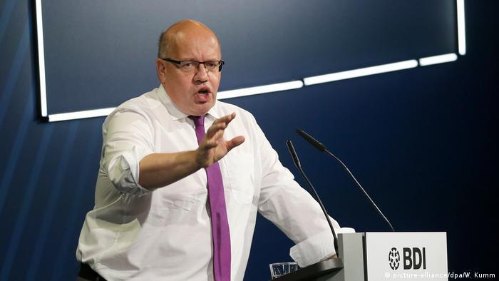 Peter Altmaier, ministro da Economia da Alemanha