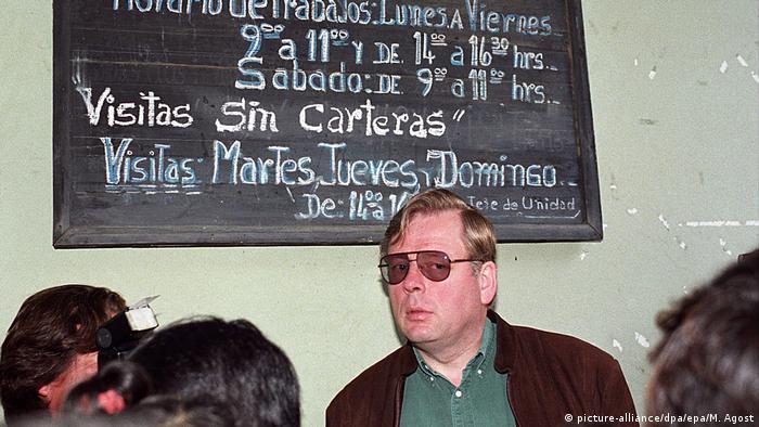 Hartmut Hopp se fugó de Chile en 2011 para no cumplir la condena de cinco años por compliccidad en el abuso de menores.