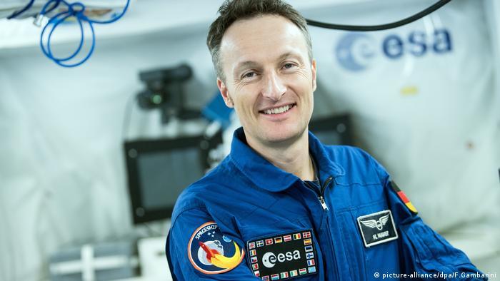 Astronaut Matthias Maurer (picture-alliance/dpa/F.Gambarini)