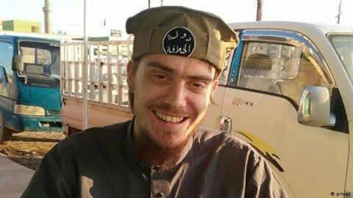 Christian Lappe kao borac terorističke organizacije Islamske države