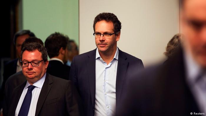 Der neu ernannte Gouverneur der argentinischen Zentralbank, Sandleris, kommt zu einer Pressekonferenz in Buenos Aires (Reuters)