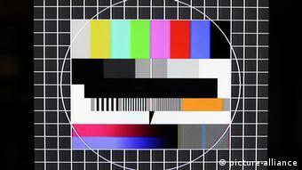 Таблица настройки в телевизоре