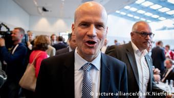 Unionsfraktion im Bundestag - Ralph Brinkhaus (CDU), stellvertretender Fraktionsvorsitzender der CDUCSU Fraktion (picture-alliance/dpa/K.Nietfeld)
