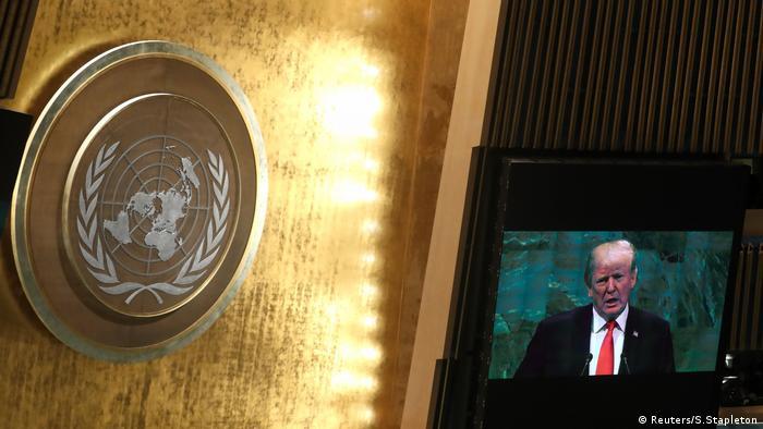 US-Präsident Trump spricht vor der Generalversammlung der Vereinten Nationen in New York