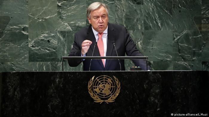 Birleşmiş Milletler Genel Sekreteri Antonio Guterres Yemen savaşını durdurma çağrısı yaptı