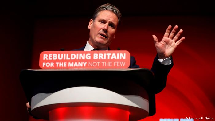 Britain's shadow Secretary of State for Exiting the European Union Keir Starmer