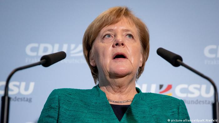 Меркель подтвердила приостановку экспорта оружия Саудовской Аравии