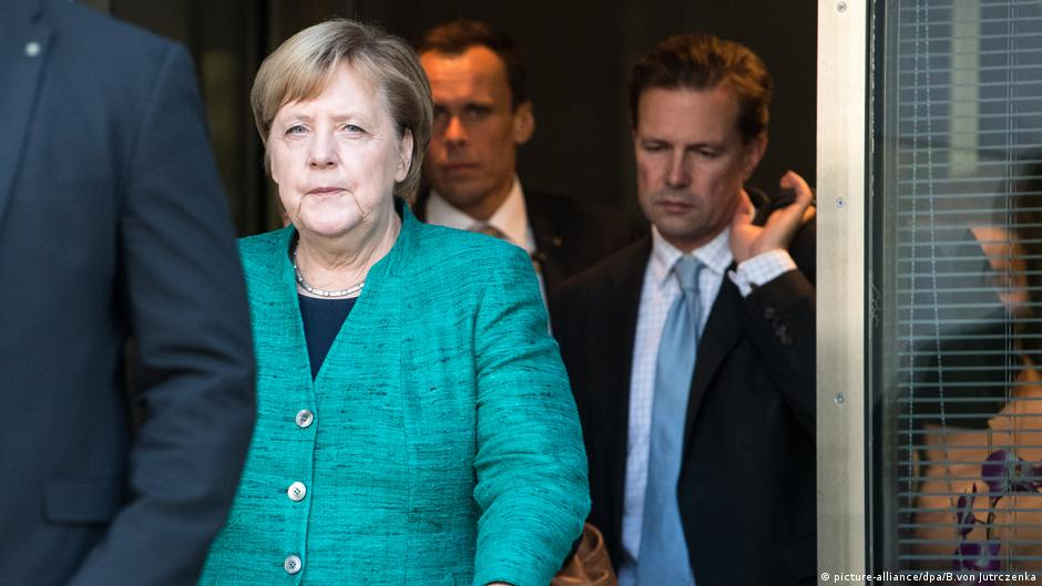 Меркель назвала поражением итоги выборов главы фракции ХДС/ХСС в бундестаге