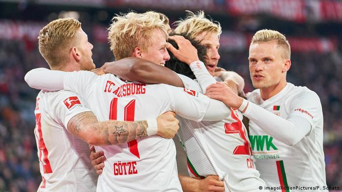 Bundsliga FC Bayern München gegen FC Augsburg