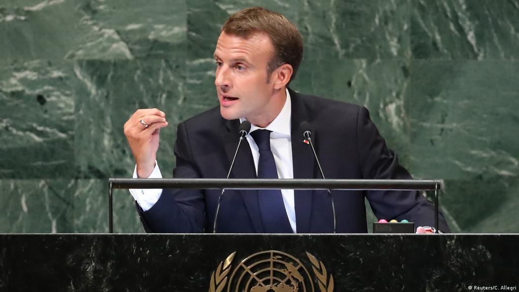 France S Emmanuel Macron Uses Un Speech To Rebuke Trump Style Nationalism News Dw 26 09 2018