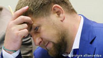 Tschetschenischer Präsident Ramzan Kadyrov