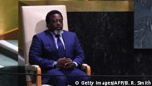 USA New York Vereinte Nationen Joseph Kabila