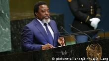 USA New York Vereinte Nationen Joseph Kabila