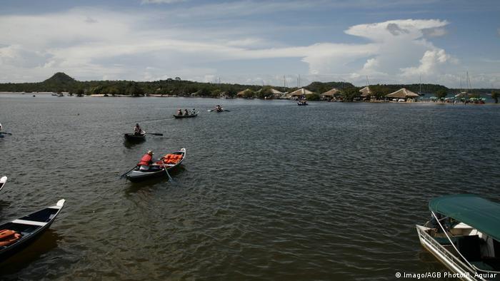 Vila de Alter do Chão, na região de Santarém, é um dos locais que mais atrai turistas no Pará