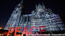 Deutschland Illumination am Kölner Dom