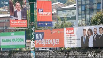 Предвыборные плакаты в Боснии и Герцеговине