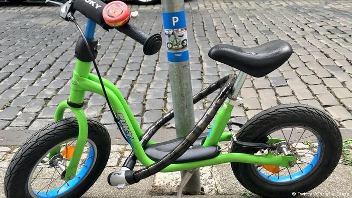 Новое парковочное место мальчика из Висбадена