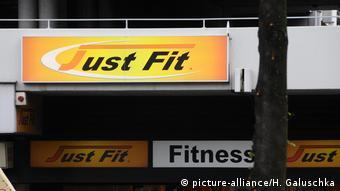 Логотип сети фитнес-клубов Just Fit