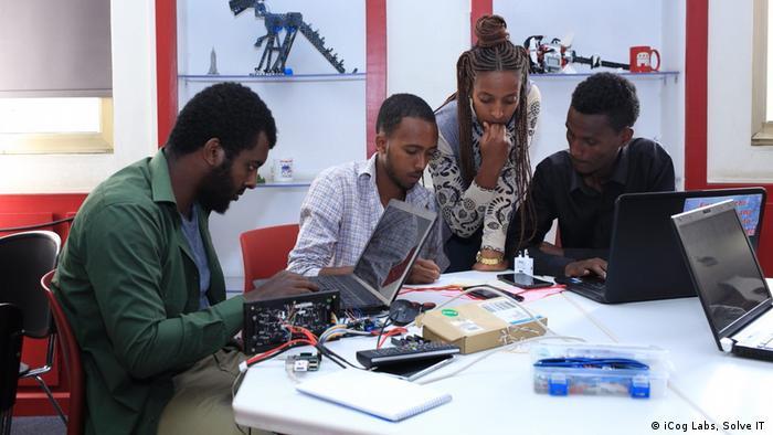 Äthiopien nationaler Innovationswettbewerb SolveIT