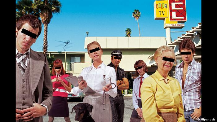 Album Cover ACDC, Dirty Deeds Done Dirt Cheap (Hipgnosis)