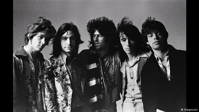 Group photo the Rolling Stones (Hipgnosis)