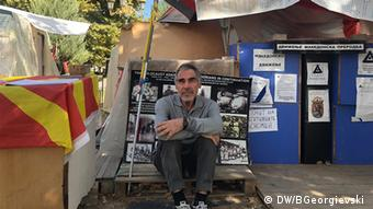 Ο Ρίστο Μιγιακόφσκι συμμετέχει ενεργά στο κίνημα #Bojkotiram, που δρα υπέρ της αποχής