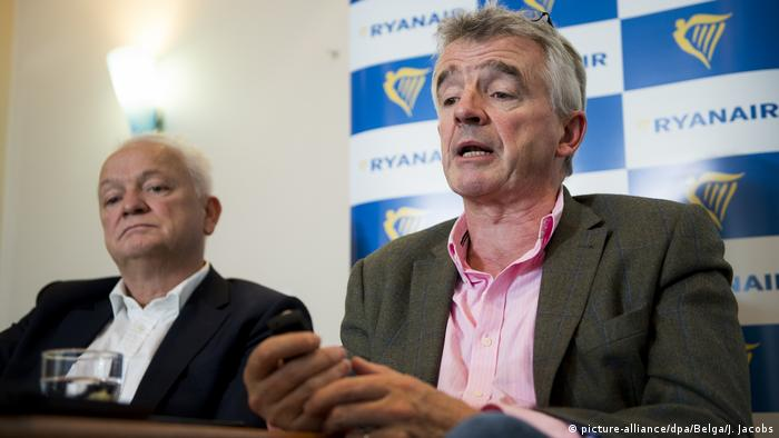 Belgien Michael O'Leary, CEO Ryanair (picture-alliance/dpa/Belga/J. Jacobs)