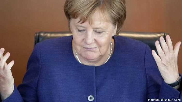 Merkel reconheceu a derrota na eleição para a liderança da bancada