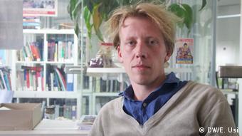 Christian Schliemann, abogado del Centro Europeo de Derechos Humanos y Constitucionales (ECCHR).