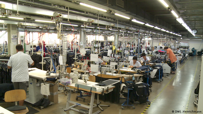 Bulgarien Textil Produktion von Pirintex (DW/J. Henrichmann)