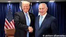 Trump trifft Netanjahu bei der UN-Vollversammlung