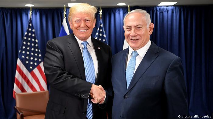 Trump trifft Netanjahu bei der UN-Vollversammlung (picture-alliance/dpa)
