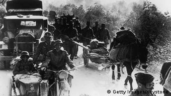 Griechenland Einmarsch der Wehrmacht 1941 (Getty Images/Keystone)