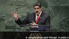 Nicolas Maduro (picture-alliance/AP Photo/F. Franklin II)