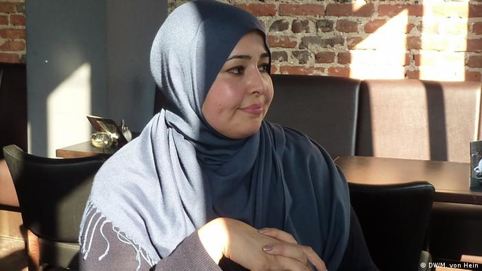 Streetworkerin Saloua Mohammed