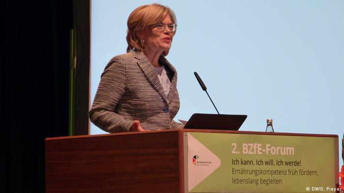 Міністерка Юлія Клекнер закликає німців здоровіше харчуватися