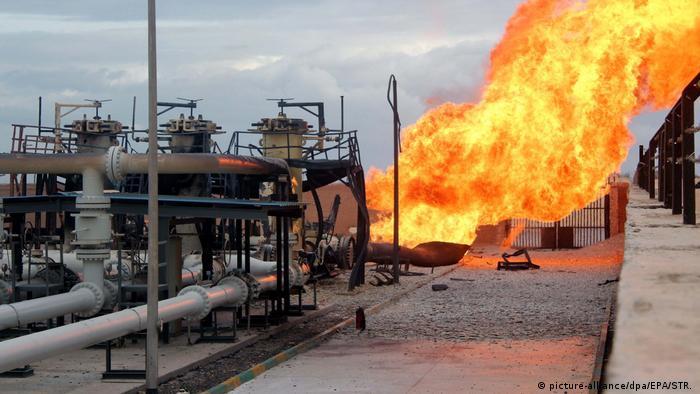 Gaspipeline im Med. Meer (picture-alliance/dpa/EPA/STR. )