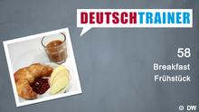 DEUTSCHKURSE | Deutschtrainer | Folge 58 | 058_000a_Titelfolie_Englisch