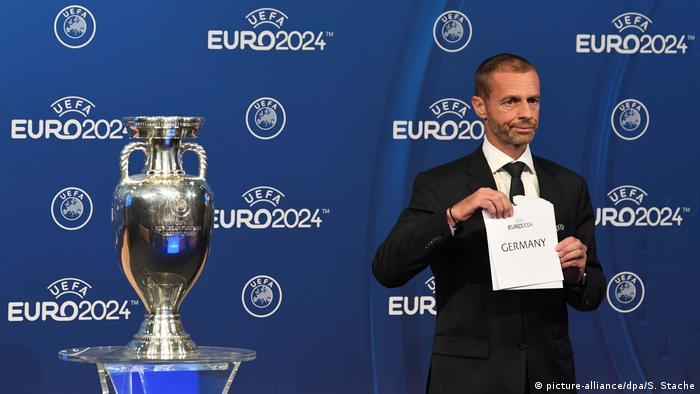 Німеччина прийматиме Євро-2024