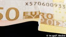 Beschädigte Banknoten