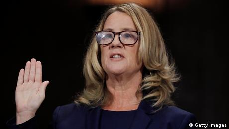 USA US-Richterkandidat Brett Kavanaugh - Aussage von Christine Blasey Ford (Getty Images)