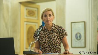 Natascha Schwanke, head of DW Akademie's Africa department.