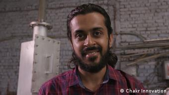 Arpit Dhupar, cofounder of Chakr Innovation, an engineering startup from Delhi