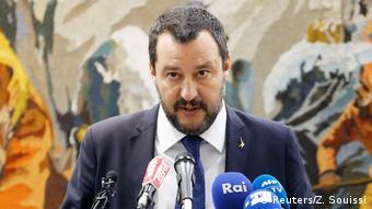 Matteo Salvini (Reuters/Z. Souissi)
