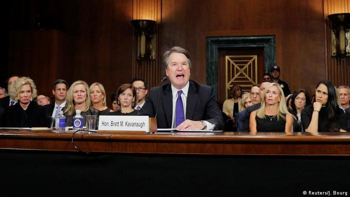 Brett Kavanaugh Anhörung vor dem US-Senat wegen Missbrauchsvorwürfen (Reuters/J. Bourg)
