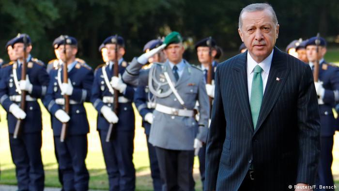 28 сентября президента Турции принял Федеральный президент Германии
