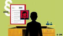 Titel: #DE_facto Kroatisch Bosnisch, Srecko Matic Beschreibung: Webvideo-Format #DE_facto, Deutschland, DEfacto, Deutschland, Srecko Matic, Diskriminierung, Gleichbehandlung Rechte/Quelle: DW Produktion
