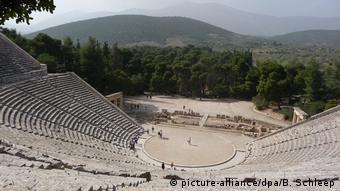 Griechenland Amphitheater von Epidauros